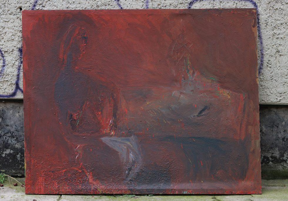 frau1, 150X190, Nessel Eitempera, Malerei, gegenständliches Bild
