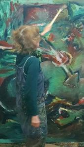 Biografie von Andrea Harborth, gegenständliche Malerei aus 40 Jahren